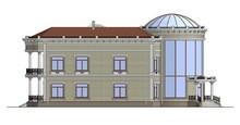 Проект фешенебельной резиденции с куполообразной крышей