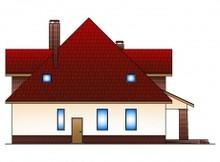 Практичный дом с цокольным этажом и гаражом