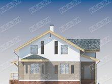 Красивый проект недорогого удобного стильного дома