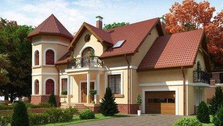 Проект роскошного особняка