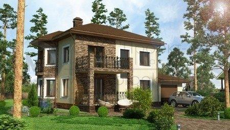 Комфортный загородный двухэтажный дом