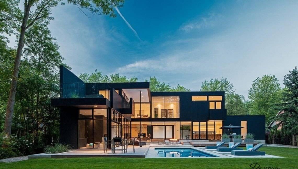 минимализм в строительстве домов