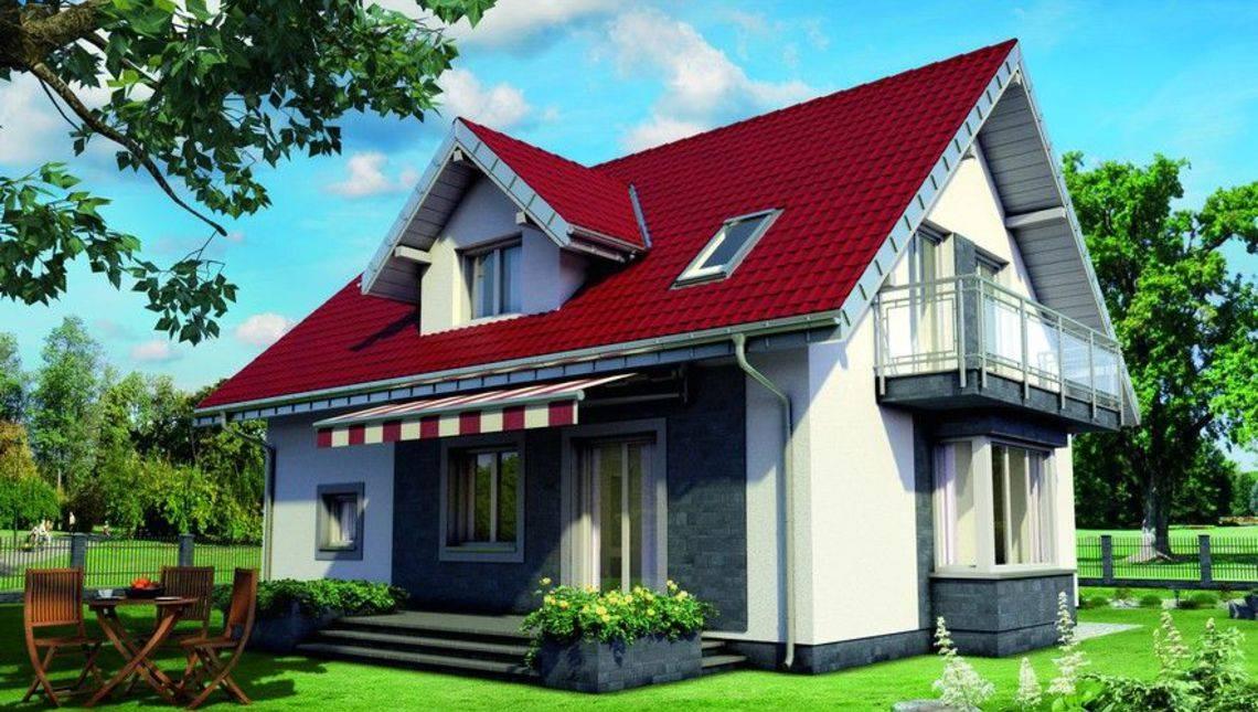 Проект просторного дома с площадью 160 m²