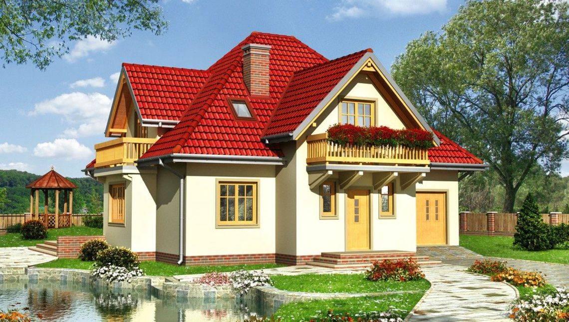 Симпатичный загородный особняк с площадью 200 m²