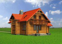 Проект оригинального сказочного домика из дерева