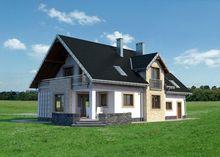 Архитектурный проект просторного дома 17 на 11
