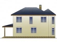 Загородный коттедж в классическом стиле