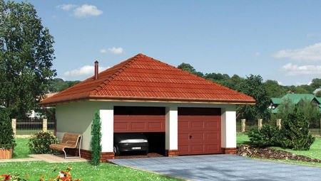 Проект гаража на 2 авто
