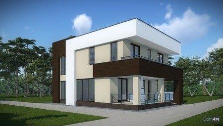 Ультрасовременный проект дома с плоской крышей