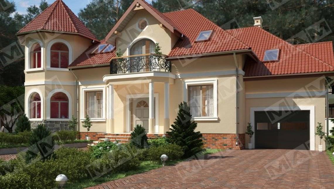 Проект роскошной усадьбы в классическом стиле