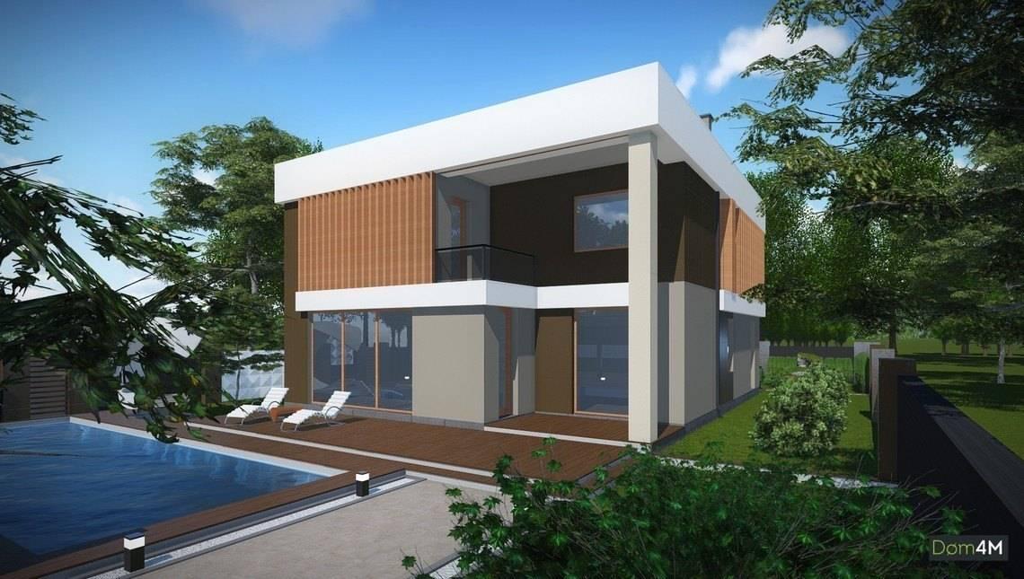 Проект красивого современного дома