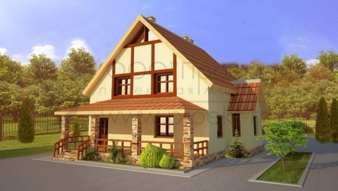 Загородный дом дачного типа