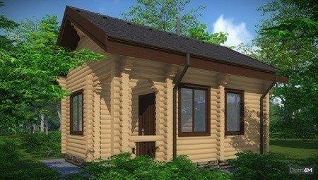 Проект уютной бани