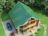 Красивый проект небольшого загородного дома площадью 150 м