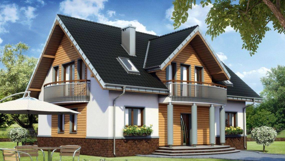 Архитектурный проект великолепной усадьбы с шестью спальнями